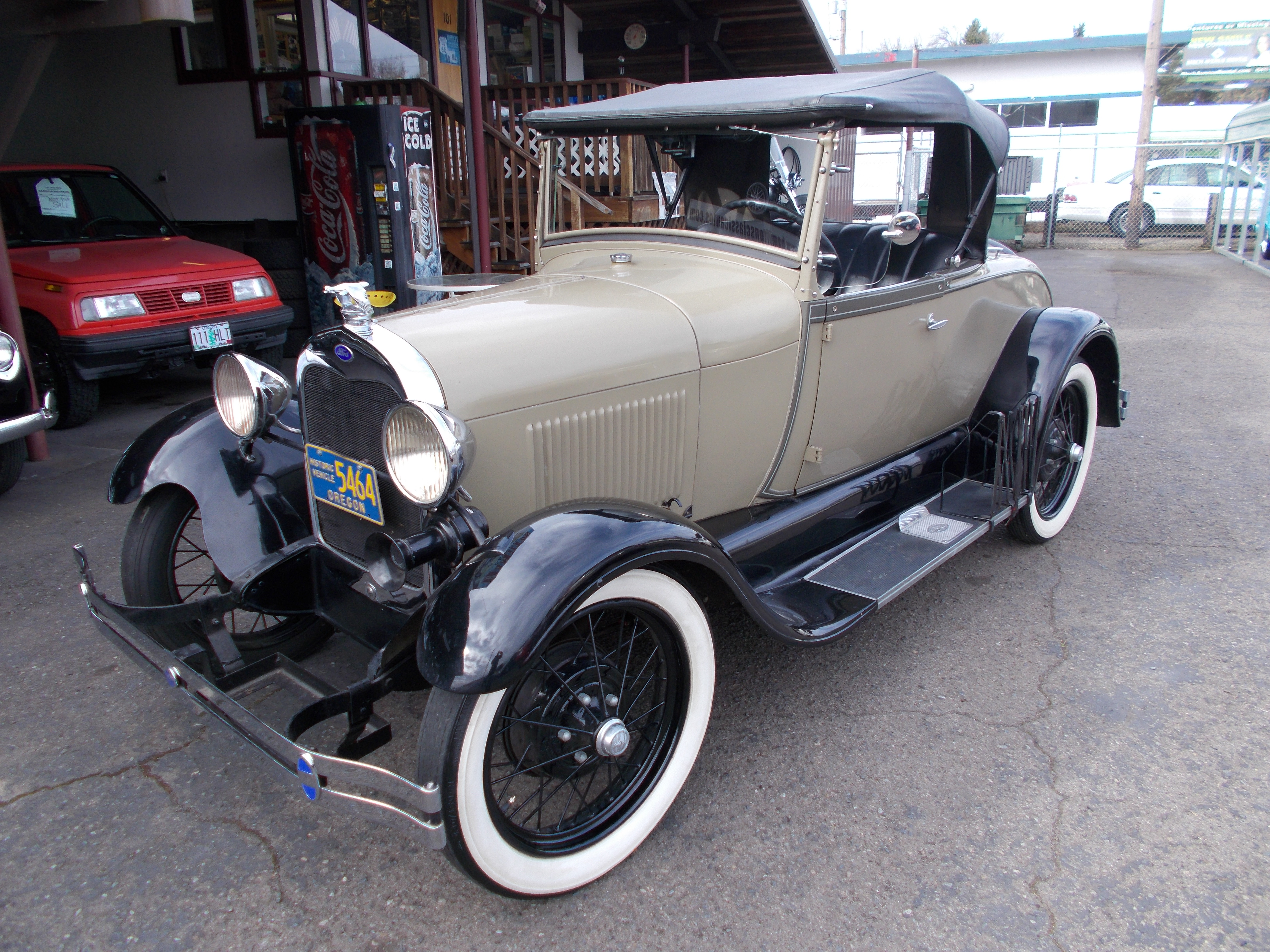 Hamilton Auto Sales 1929 Ford Model A Wiring Harness 1928 Roadster Rumble Seat All Steel Car This Is Nice Older Restoration Of With The Original Running Gear