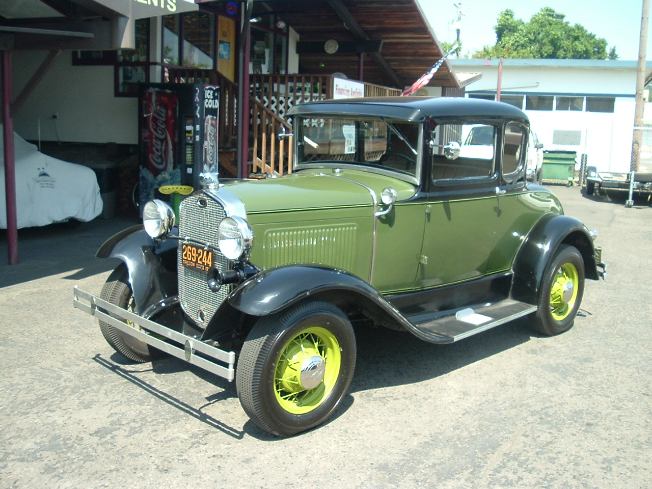 Hamilton Auto Sales 1980 Ford Custom Interior 1931 Model A Coupe All Steel Car W Original Running Gear Restored With Some Upgrades Including 12 Volt System Alt And Turn Signals