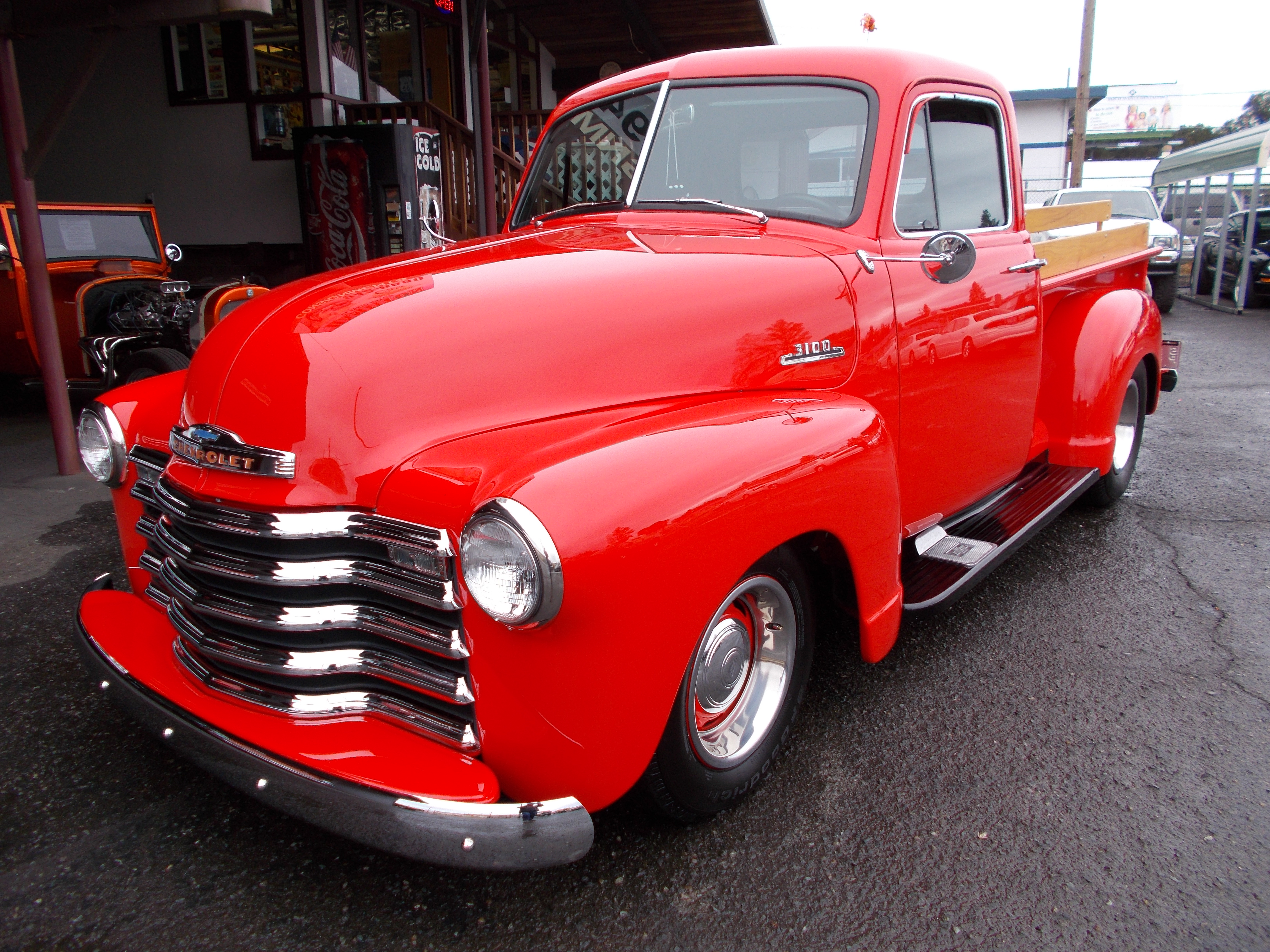 Hamilton Auto Sales 1949 Chevy Truck Heater 1953 3100 3 Window Pickup Street Rod Is All Steel And Has Complete Restoration Right Down The Bolts Nuts Crate 350 V 8