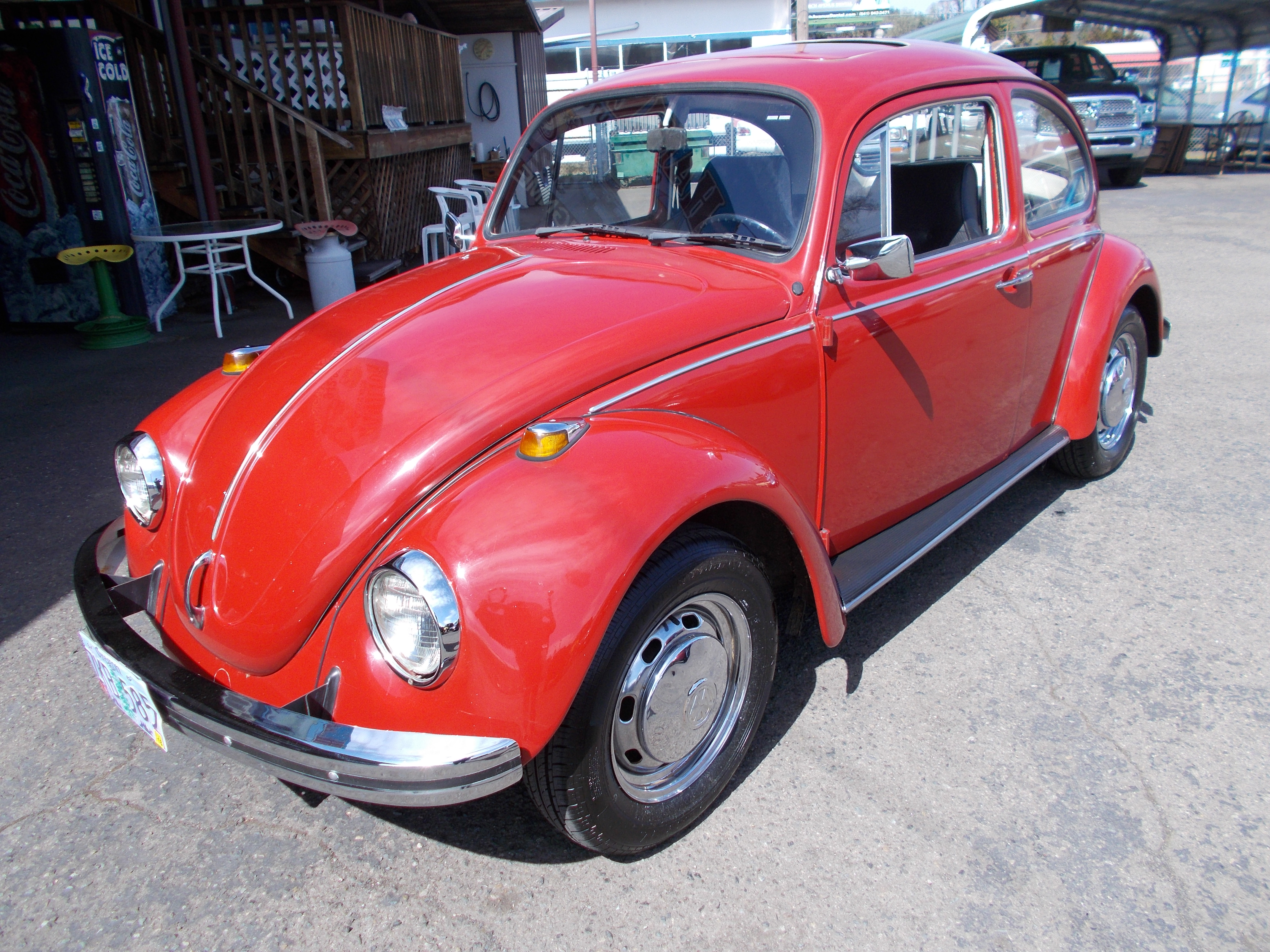Hamilton Auto Sales 1972 Vw Bug Turn Signal Wiring 1968 1600cc 4cyl 4spd Nice Restoration Very Straight And Solid Body W Newer Paint Interior Is Pretty Much Excellent Condition