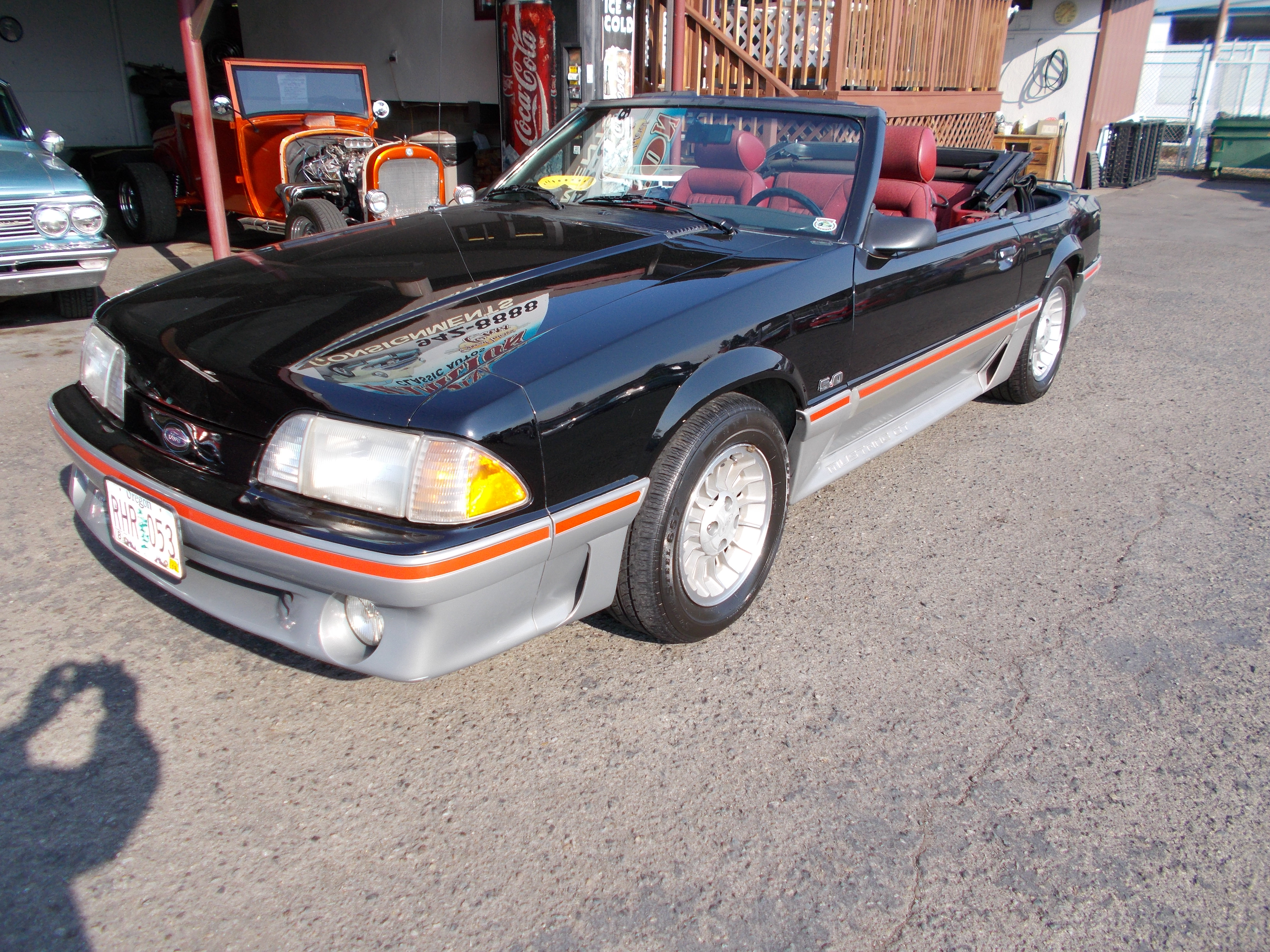 Hamilton Auto Sales 1987 Toyota Pickup Undercarriage Wiring Harness Ford Mustang Gt Convertible 50 Liter V 8 Transmission 91153 Miles Suppose To Be Actual And The Car Looks Like They Are Correct