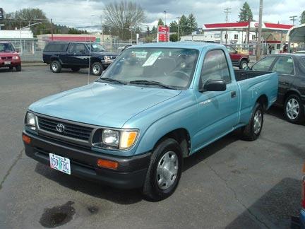 1999 Toyota Tacoma 2wd 1995 Toyota Tacoma 2wd