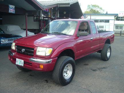 1998 Toyota Tacoma 2wd 1998 Toyota Tacoma Sr5 Xcab