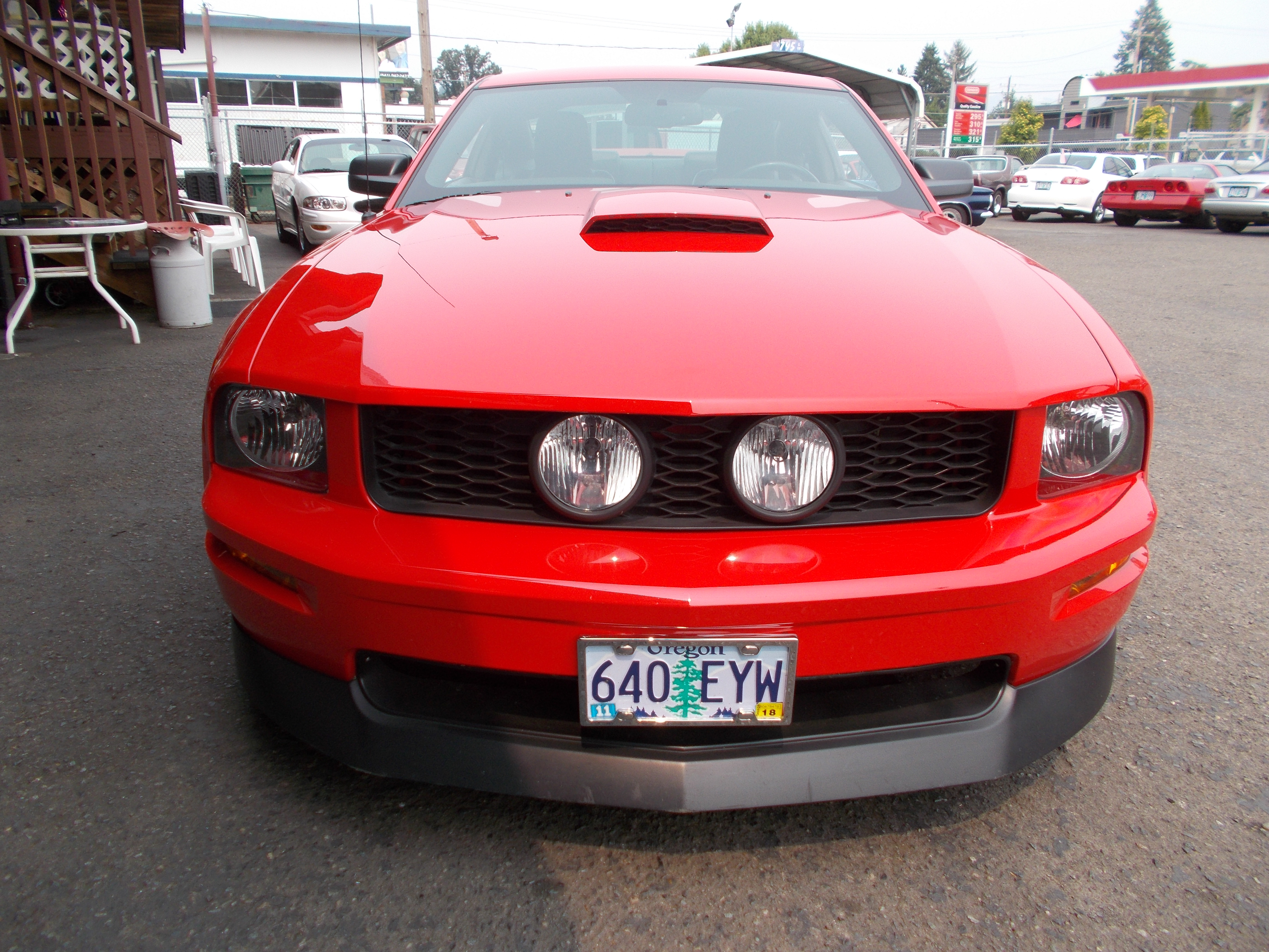 2007 Red Mustang >> New Page 1 [hamiltonsclassicautos.com]